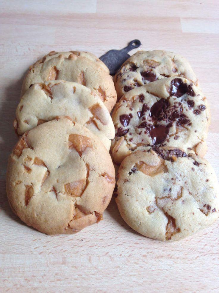 Cookies aux pépites de caramel