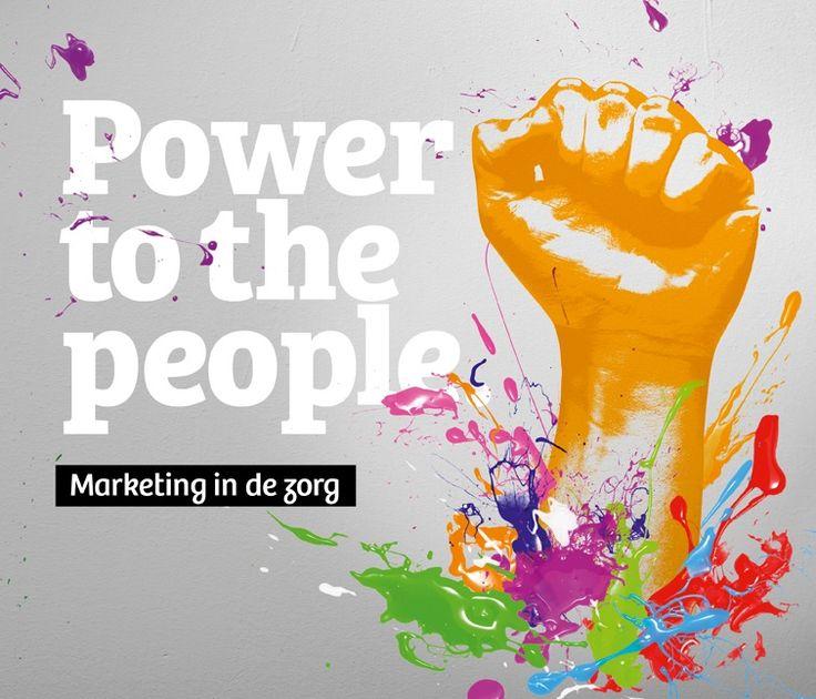 Power to the people beschrijft hoe je als zorgorganisatie marktgericht wordt en hoe je marketing als nieuwe discipline invoert in de zorg.