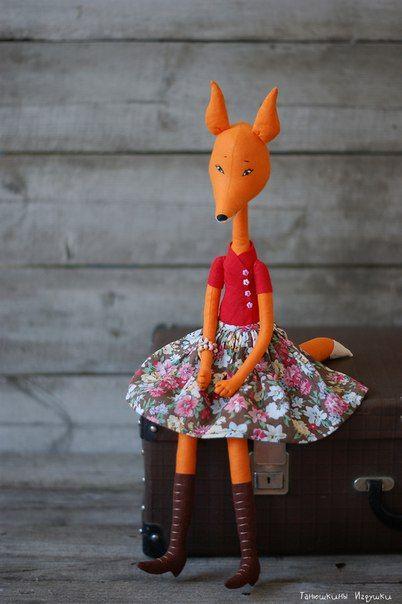 Free Fox Pattern Fox Doll