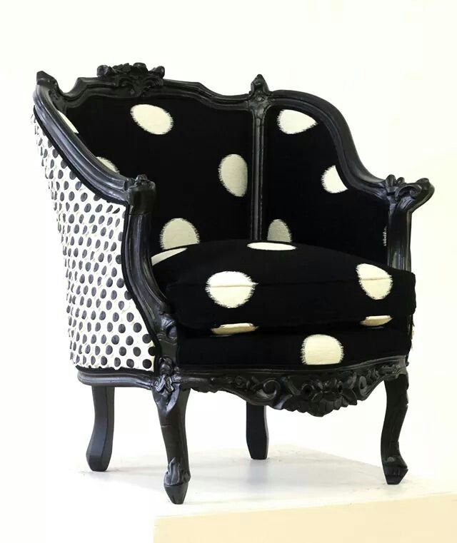 25 Best Polka Dot Chair Ideas On Pinterest Home Office