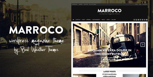 Marroco - Wordpress Magazine Theme