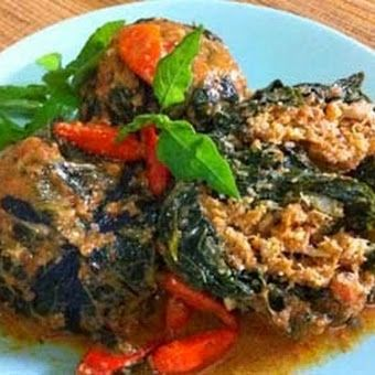 Resep Buntil Daun Pepaya Singkong (Macam2 resep masakan Indonesia)