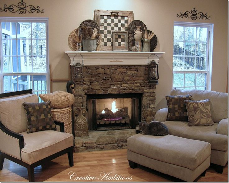 CREATIVE AMBITIONS: Rustic