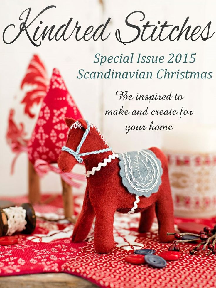 Kindred Stitches Magazine Scandinavian Christmas Special