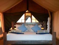 Luxury Tent Accommodation at Sal Salis Ningaloo Reef