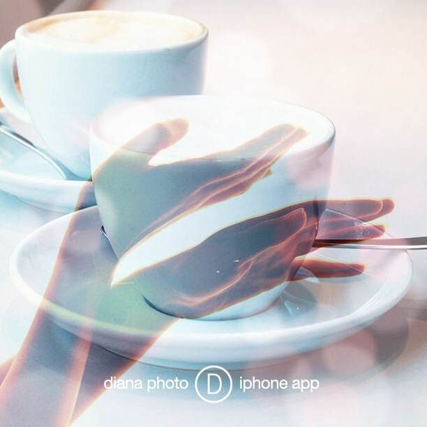 When I think breakfast, I say coffee - lots of coffee! I love it so much... especially in double exposure! ;)   @TheDianasBlog #DianaPhotoApp #photoapp #Diana #photo #doubleexposure #inspiration #camera #blog #gallery #art