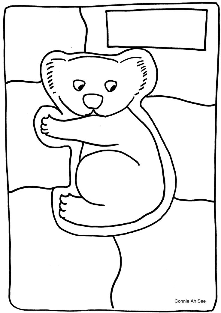 Koala (+ nine more animal outlines/puzzles) - Big Mob Dreaming - Book Rap Resources
