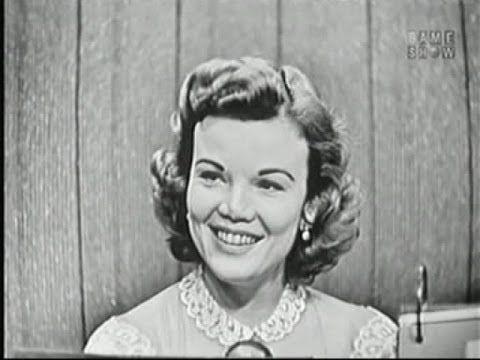 What's My Line? - James Kilgallen [Dorothy's father!]; Nanette Fabray (Nov 18, 1956) - YouTube