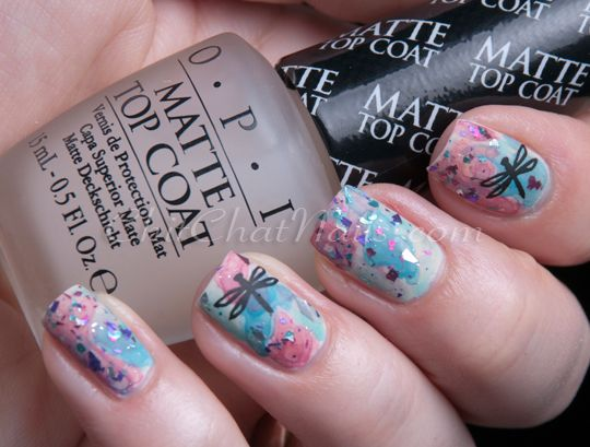 ChitChatNails » Blog Archive » Watercolour – Stamped and Shredded - 65 Best Dragonfly Nail Designs Images On Pinterest Cute Nails