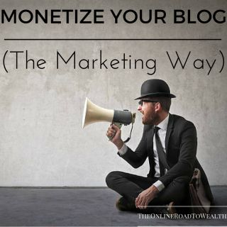 There are countless methods to monetize your blog online. This post focuses on the marketing wing of blog monetization.