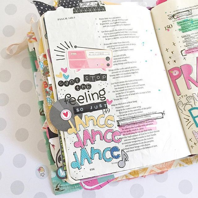 WEBSTA @ mpjournalingbible - [psalm 149:3]