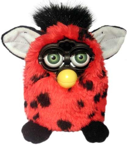 I swear my Furbie said bad words :)