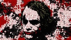 The Joker The Dark Knight With Quotes HD Hand Painting Wallpaper,The Joker HD Wallpaper,The Dark Knight Wallpaper,Heath Ledger HD Wallpaper Download