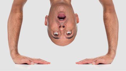 Обучение йога технике стойки на голове и руках :: JV.RU