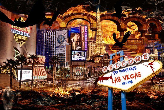 Spookiest Las Vegas Halloween Events in October 2016, top activities, best Haunted Houses, scary nightclub parties, and more!!
