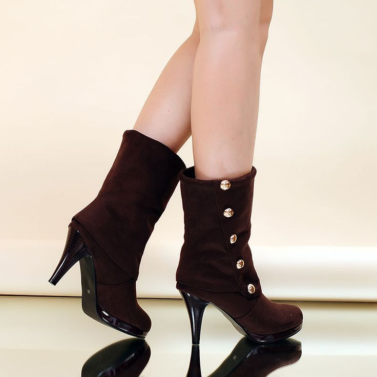 1000  ideas about Women&39s Mid Calf Boots on Pinterest | Sexy boots