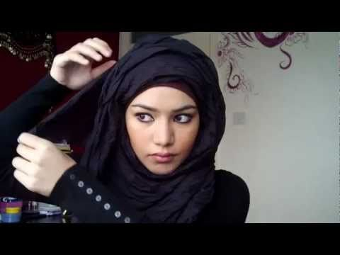 ▶ Simple Hijab Tutorial - YouTube