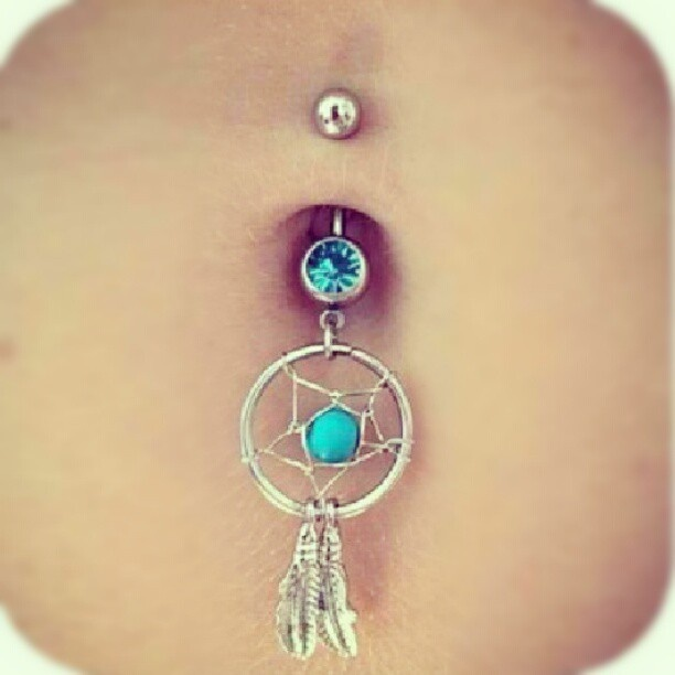 The gallery for --> Dream Catcher Belly Button Rings