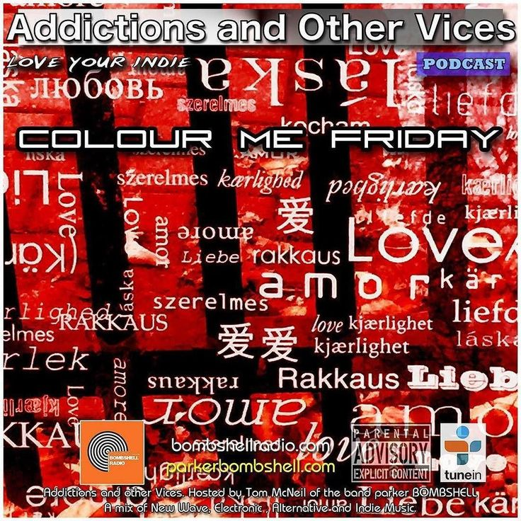 #today Addictions 340 #newmusic #newshow #tuneinradio #itunes #radio #mixcloud #bombshellradio #addictionspodcast #rock #indierock #indiepop #dj #rock#alternative #love #musicians #radioshow #colourmefriday #weekend #nowplaying #checkitout Addictions and Other Vices 340 - Colour Me Friday.  It's Friday and It's Showtime! New Indie finds favourites Bombshell Radio Track of the Day The Sweetest Condition Spotlight and a few surprises. Spread the Love this Addictions and Other Vices 340…