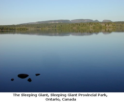 Sleeping Giant Provincial Park, Ontario, Canada. I'll see you in September!