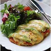 Avocado Chicken Parmesan by Cuisine Paradise