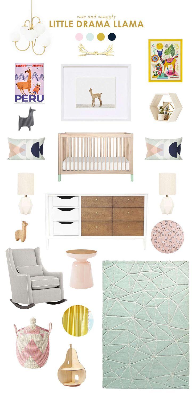 Llama Baby Nursery Ideas