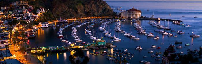 Romantic Waterfront Luxury on Catalina Island.
