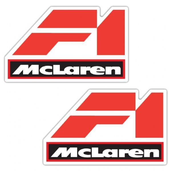 McLaren F1 Laminated Old Style Stickers | Dioramas | Mclaren f1