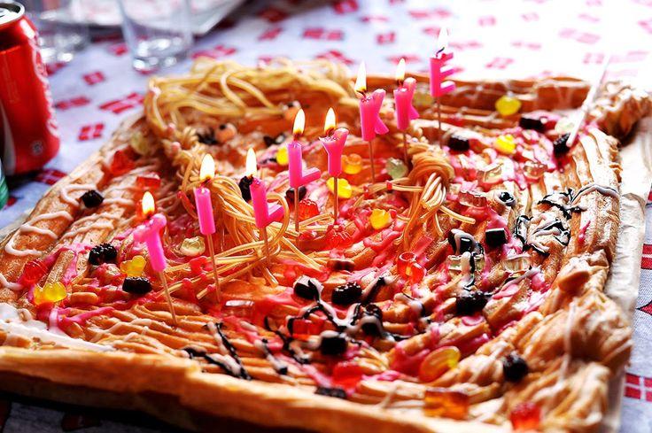 Mad på 4 sal: Vandbakkelse kage