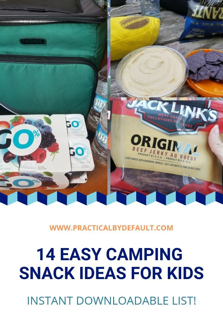 Easy Camping Snacks Ideas For Kids: 14 Super Yummy Treats