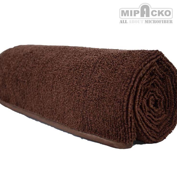 Mipacko Microfiber bath towel dapat mengeringkan tubuh setelah mandi secara lembut dan 10 kali lebih cepat dari pada handuk katun.