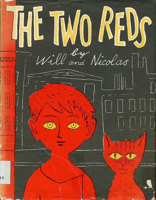 The Two Reds Nicolas Mordvinoff 1950 by Kay Aker, via Flickr