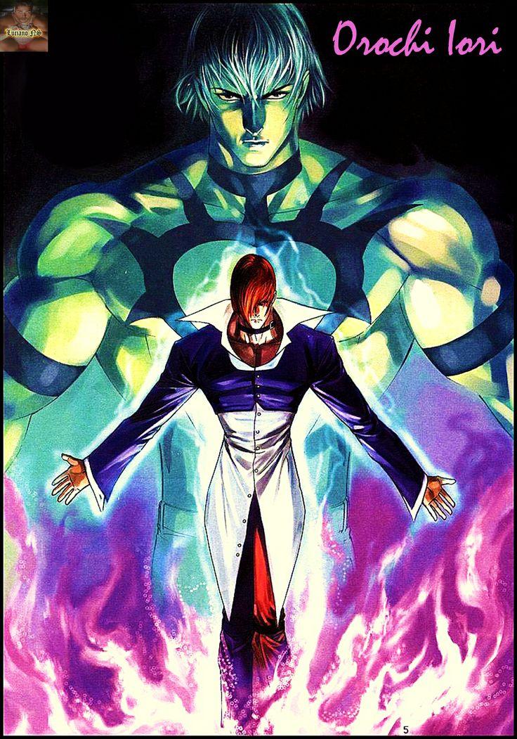 Iori Yagami as Orochi Iori, King Of Figthers Super Char.