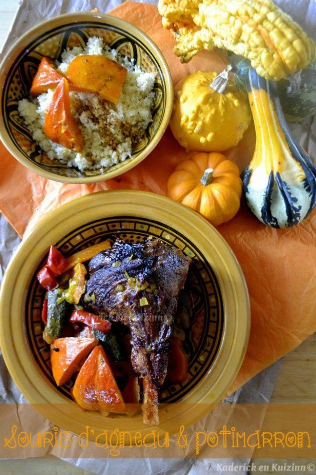 Recette de souris d'agneau en tajine aux légumes d'automne bio - Kaderick en Kuizinn©