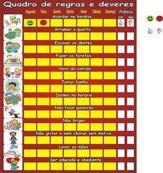 lista de tarefas infantil - Pesquisa Google                              …