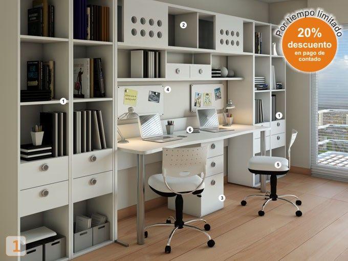 12 best images about muebles para estudios on pinterest - Muebles de estudio ...
