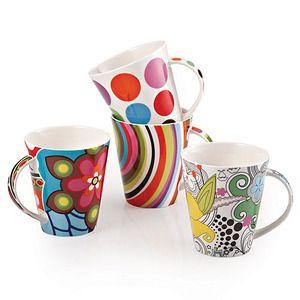 Porcelain Mugs by FB Korea