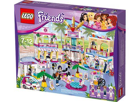 LEGO FRIENDS 41058 kjøpesenteret i Heartlake
