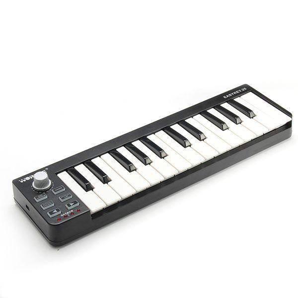 Worlde Easykey 25 Key Portable USB #MIDI #Keyboard Controller