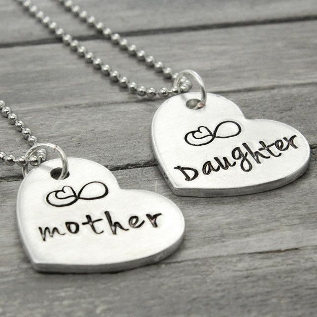 Mother Daughter Necklace, Mother Daughters And Gifts For