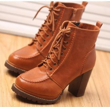 Horny teen boots orange