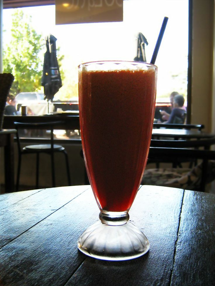 Our Energizer juice: #orange, #carrot, #beetroot, #celery and #ginger. Freshly made as always. Delicious !
