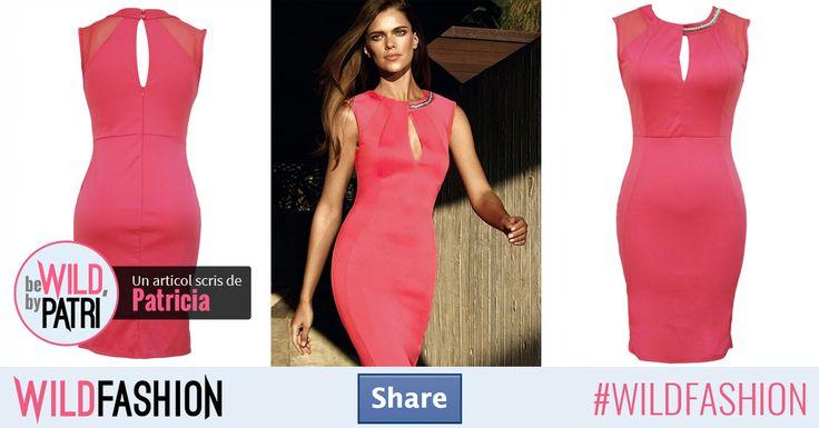 Share dacă vrei să porţi o rochie roz cu ultra atitudine!
