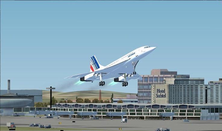 Flight Simulator et le Concorde.