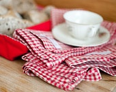 Set of 4 Napkins / Kit de 4 Guardanapos