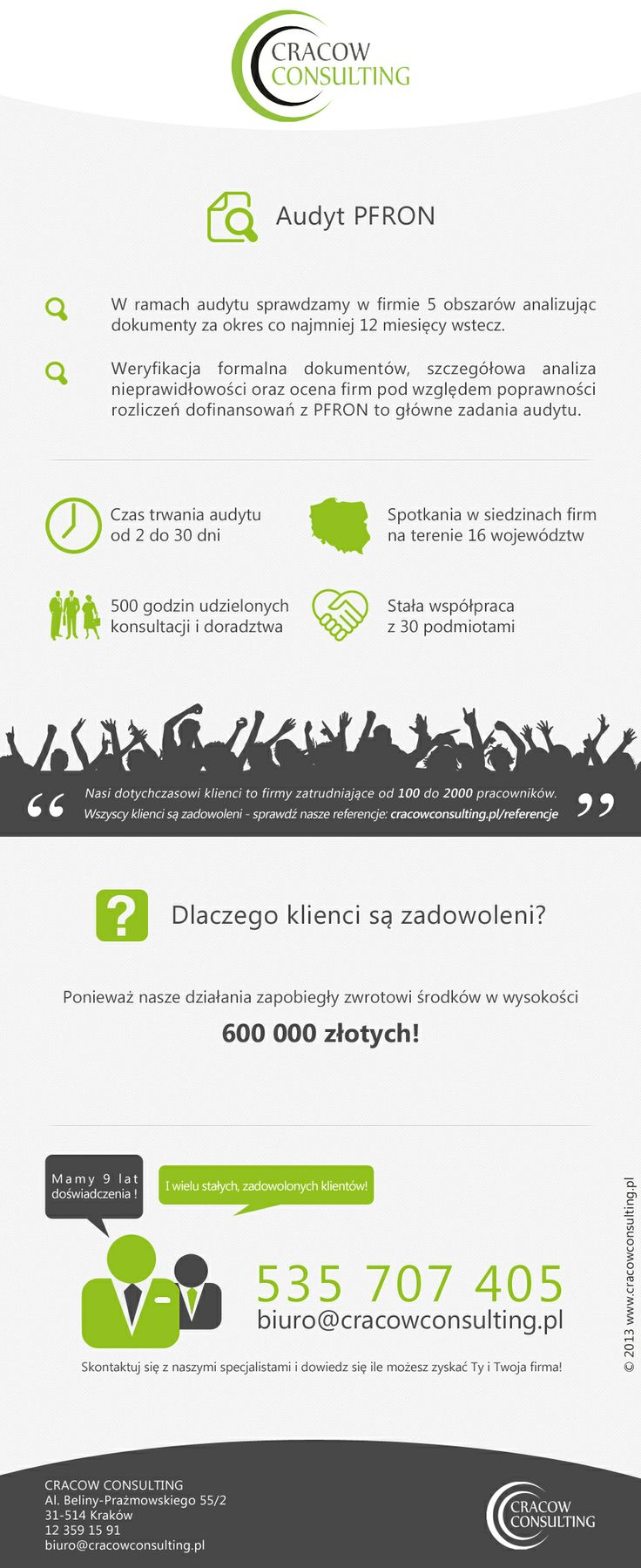 CracowConsulting - infografiki