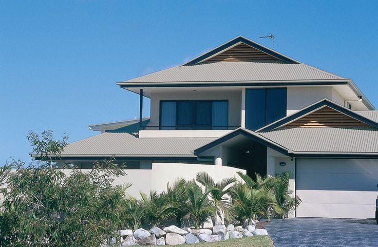 Colorbond steel roofing dune house exteriors colours - The dune house the floating roof ...