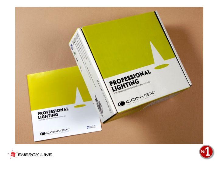 CONVEX LIGHTING, New product category Branding, packaging design, broshure design