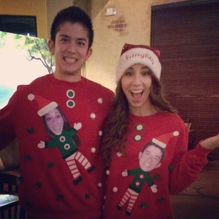 Ugly Couple Sweater Christmas Couple Ugly Christmas Sweaters
