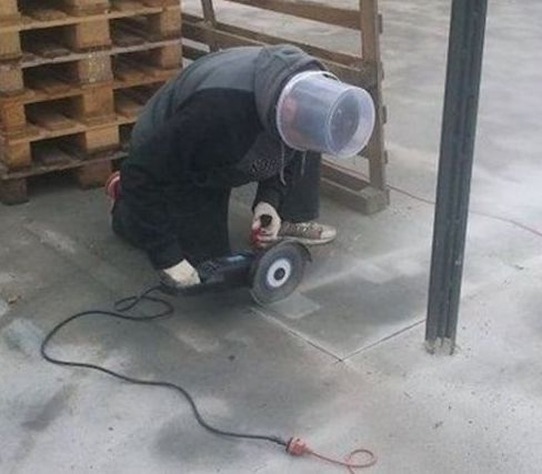 Safety First Stupid or Genius - Best funny, pics, humor, jokes, hilarious, quotes